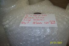 12 Wp Large Bubble Cushioning Wrap Padding Roll 125 X 18 Wide 125 Ft Perf 12