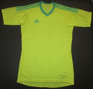 9d9dde5fe Image is loading NEW-Mens-M-L-ADIDAS-REVIGO-17-Goalkeeper-SS-