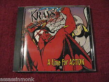 THE KRAYS A Time For Action CD TKO Records Agnostic Front Menace Ruts Unseen