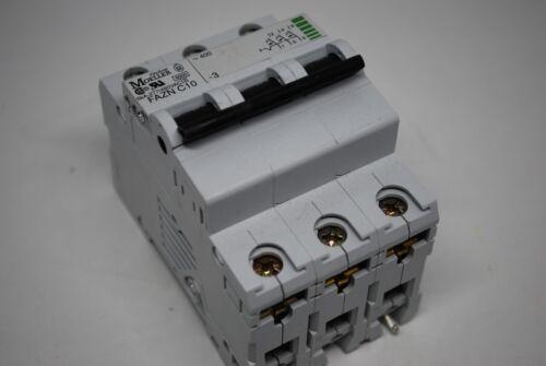 MOELLER 3 Pôle Disjoncteur 5kA 277//480VAC 50//60Hz Part No FAZN C10-3