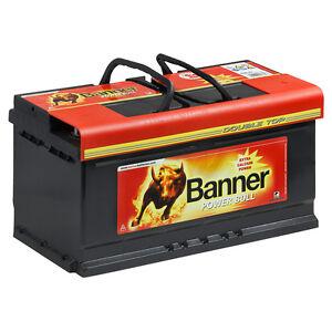 banner power bull 12v 95ah p9533 autobatterie pkw starter. Black Bedroom Furniture Sets. Home Design Ideas