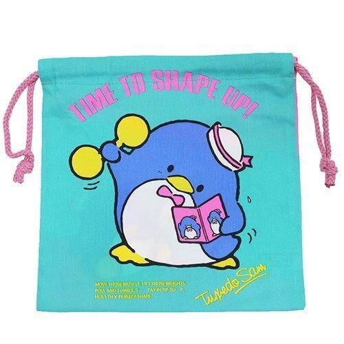 Sanrio petite avec cordon de serrage Sac pochette Hello Kitty Gudetama Tuxedo Sam Han gyodon