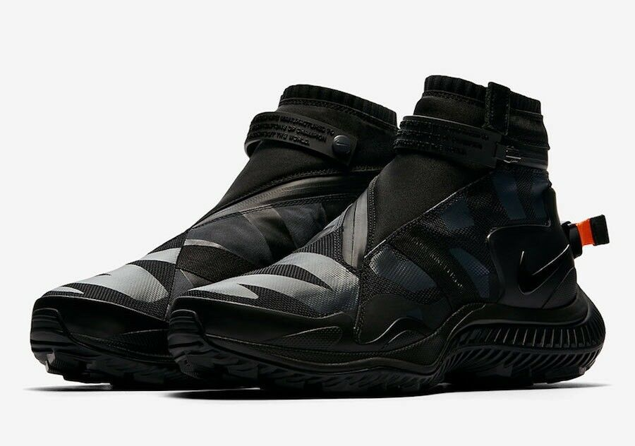Brand New Mens Nike NSW Gaiter Boot AA0530-001 Black Size 7