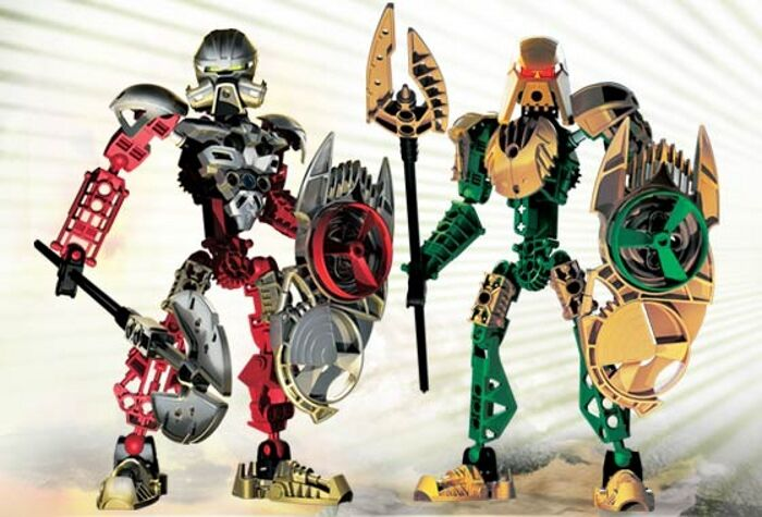 LEGO 65757 Bionicle: Toa Hagah Special Edition Guardian Toa (8762/8763) - NO BOX