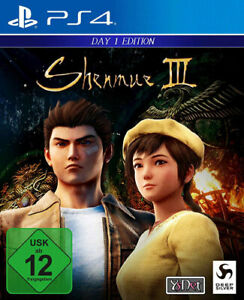 Shenmue-3-DayOne-Edition-ps4-PLAYSTATION-4-NUOVO-amp-OVP