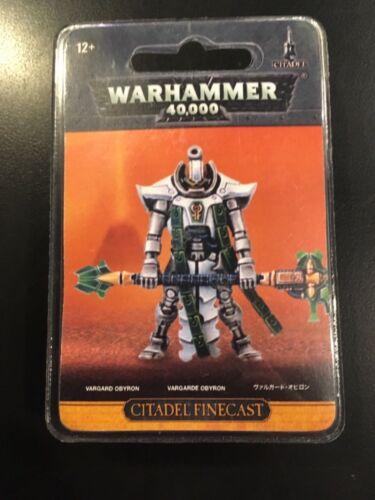 NIB 49-69 Vargard Obyron Resin Warhammer 40k Necron
