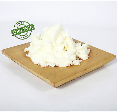 Shea Butter Refined Organic - 100% Pure and Natural - 1Kg (RMO1KSHEAREFI)