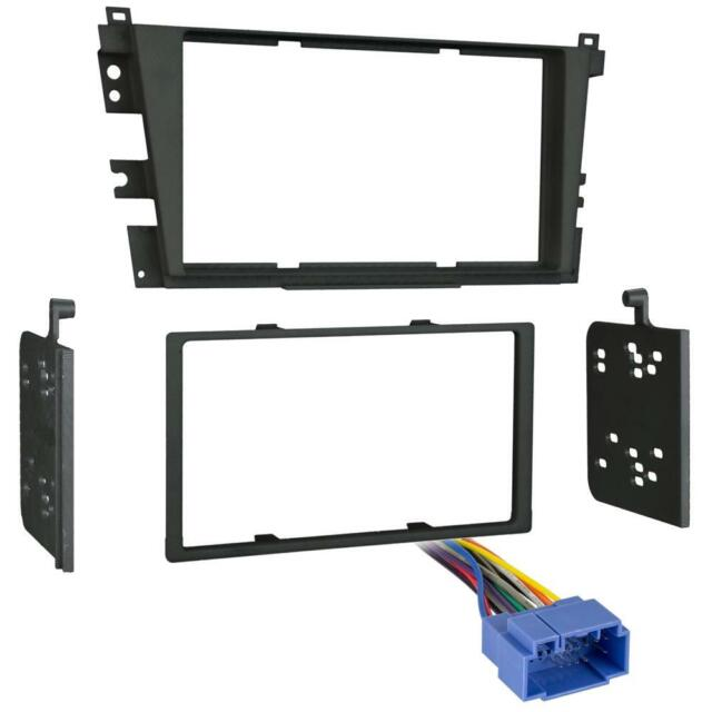 Metra 95-7868B Double DIN Stereo Dash Kit + Harness For