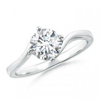 2019 Neuestes Design Trauringe Ring Moissanit Weiss G-h 3.00 Ct 9.50 Mm. Silber Superior Dem Diamant