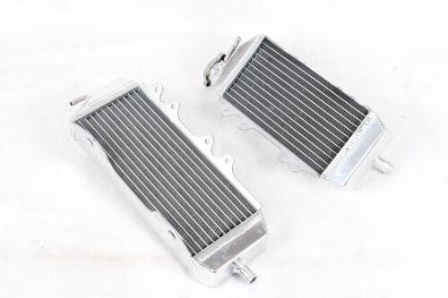 Left + Right OPL HPR006 Aluminum Radiators For 2006-2008 Kawasaki KX250F