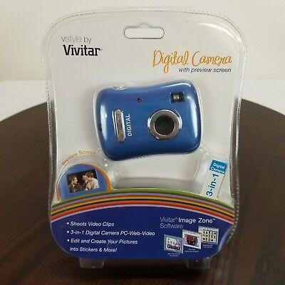 Creatief Vivitar Digital Camera Preview Screen 3 In 1 Shoots Video Clips Create Stickers Om Jarenlange Probleemloze Service Te Garanderen