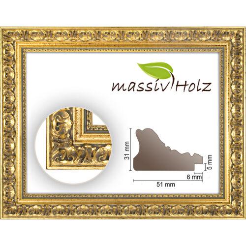 Baroque cadre or Gold décorés Cadre baroque 972 ORO sans verre et de fond