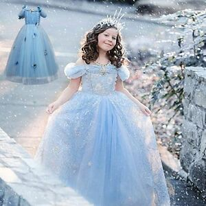 Flower Girls Princess Baby Birthday Wedding Pageant Formal Gown Tulle Tutu Dress