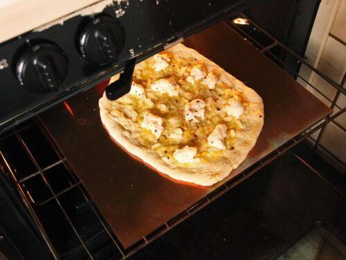 """1//4/"""" Steel Pizza Baking Plate A36 Steel 1//4/"""" x 17/"""" x 18/"""" .25/"""""""