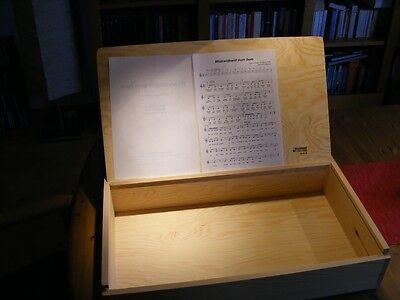 Cases, Racks & Taschen Musikinstrumente Sonor Percussion Orff Aufbewahrungskasten Mit Notenhalter Ks 40 Jd Glockenspiel