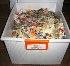 1000 USED WORLDWIDE (WW) OFF PAPER LOT FROM LARGE ACCUMULATION