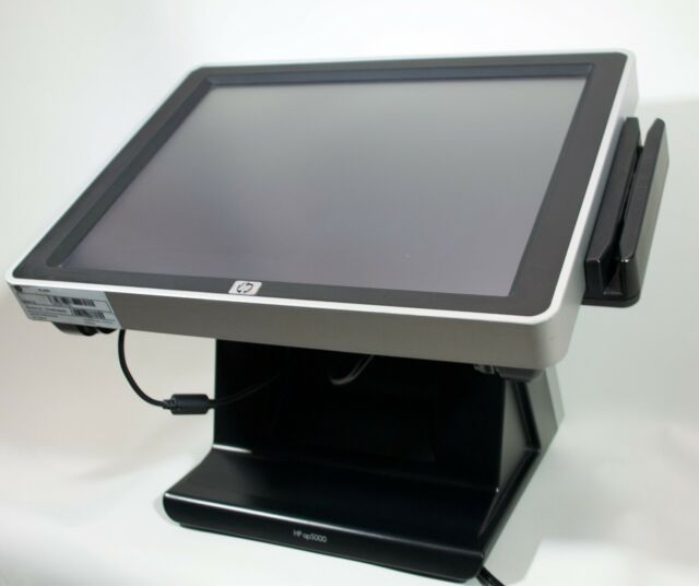 "HP AP5000 15"" Touchscreen, All-In-One POS, Kundendisplay und Kartenlesegerät"