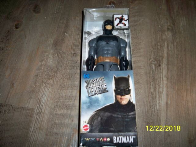 DC Comics Justice League Batman Mattel 3 NEW IN BOX 12 inch Action Figure