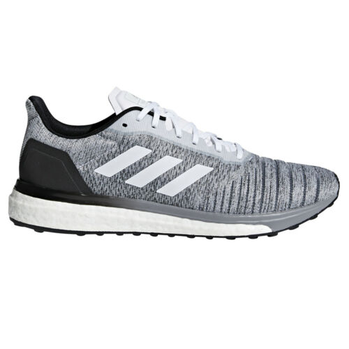 list $110 NEW Adidas Solar Drive Men/'s Running Sneakers AQ0337 Gray,White,Black