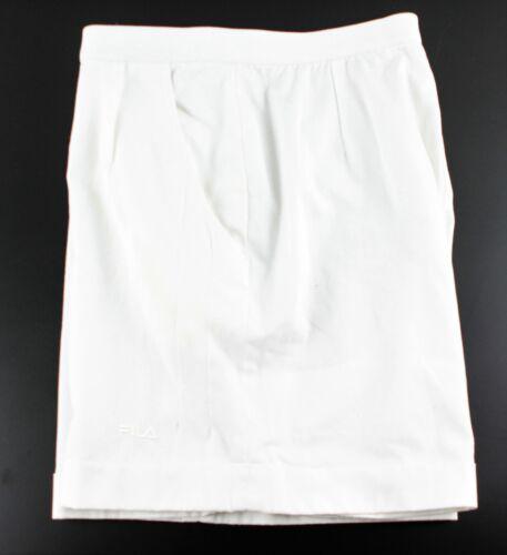 Vintage FILA Tennis /Sports SHORTS Womens White UK