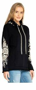 Johnny-Was-Olenna-Black-Pullover-Hoodie-Floral-Embroidered-Style-J43818