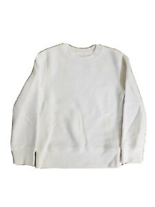 MTA-Sport-Active-Fleece-White-Shirt-Girl-Boy-Size-4-5-Longsleeve