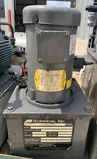 Hydradyne 1hp Hydraulic Power Pump Unit 3000psi 230460v J0187a