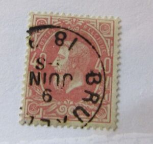 1870 Belgium Sc 35 Cds Used Stamp Ebay