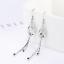 Womens-Leaf-Butterfly-925-Sterling-Silver-Plated-Earrings-Hook-Drop-Dangle-Chain thumbnail 3