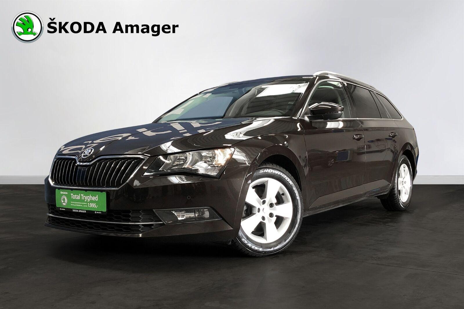 Skoda Superb 1,4 TSi 150 Ambition Combi DSG 5d - 279.900 kr.