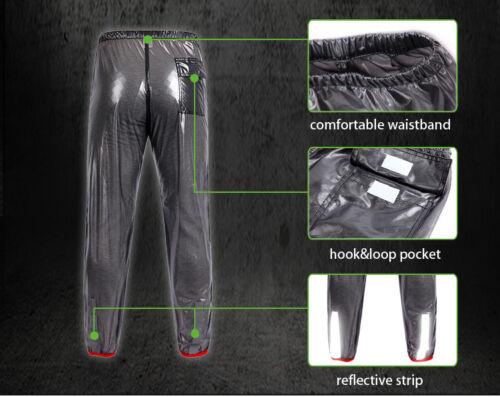 Waterproof Mens Rain Pants Cycling Pants Windproof Trousers Hiking Outdoor Sport