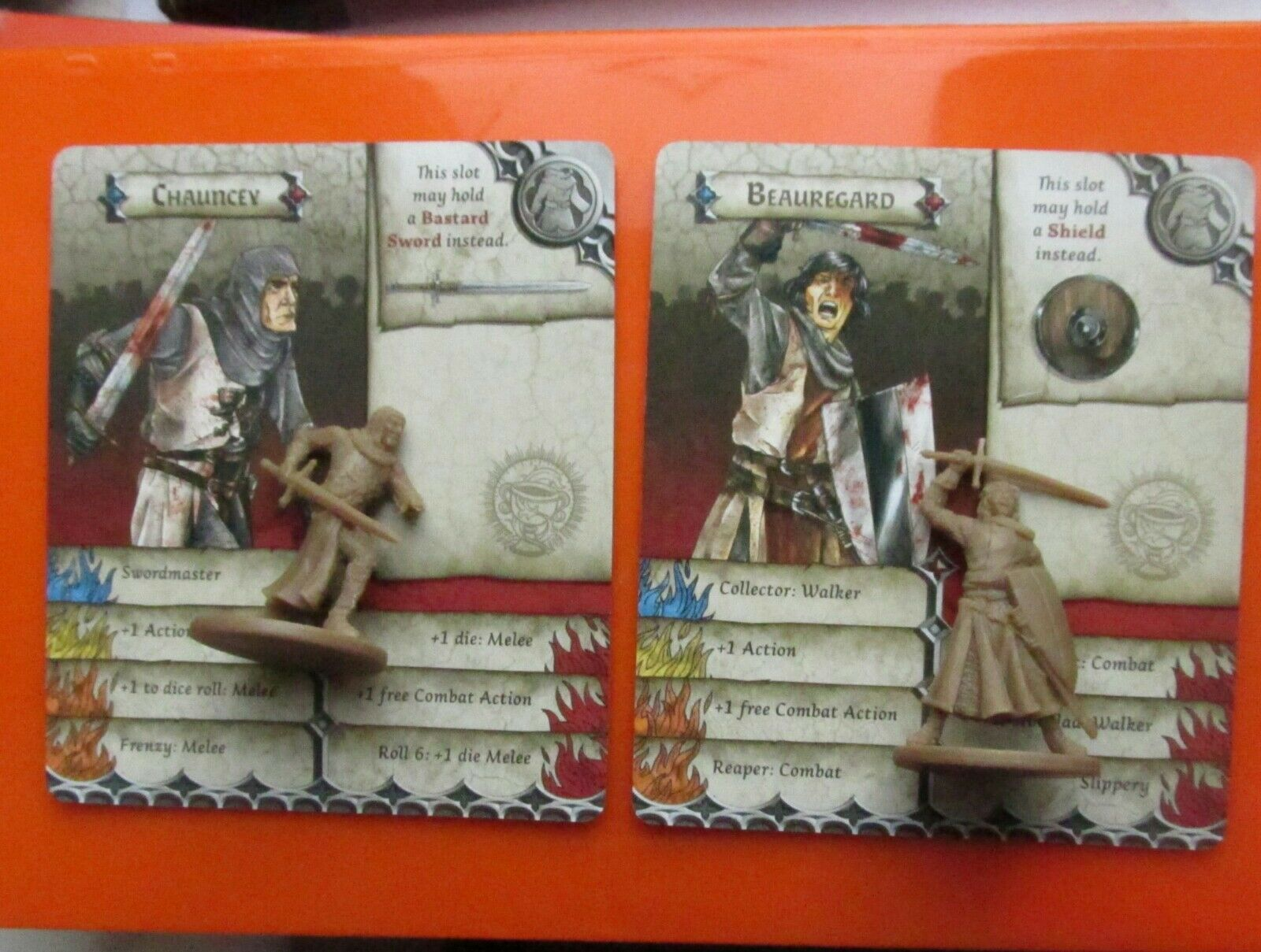 Chauncey & beaurgard Zombicide Zombicide Zombicide games boardgame knights schwarz plague monty python 588e8f