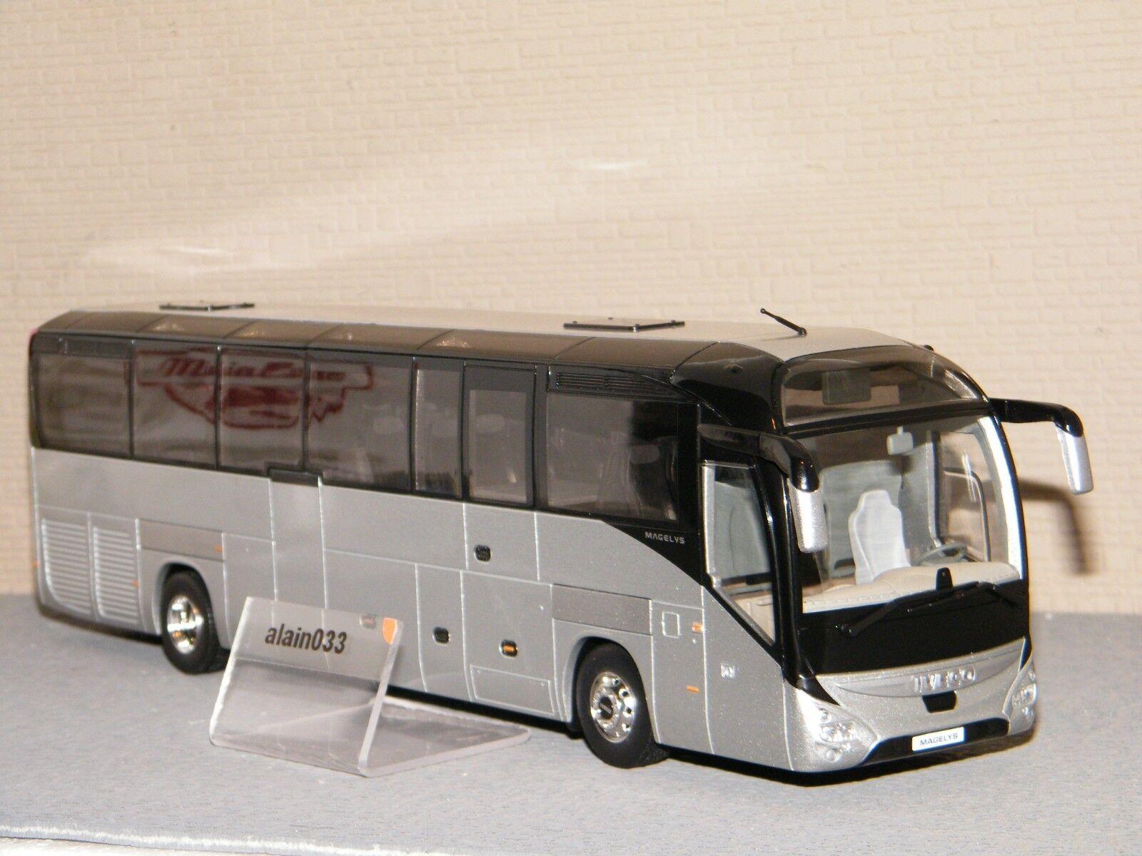 Bus Iveco Magelys plata Norev 1 43 Ref 530238