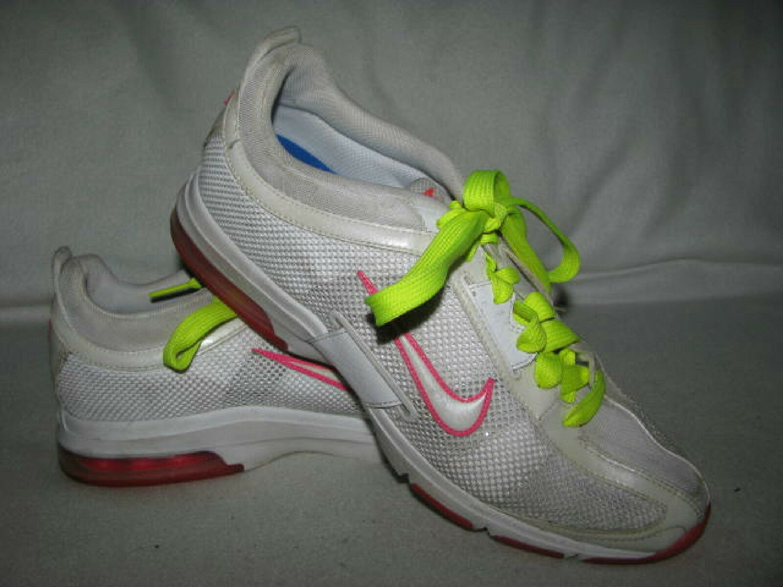 NIKE AIR MAX Essential Trainer Womens Sz 9 White Pink Sneakers 395739-111 The most popular shoes for men and women