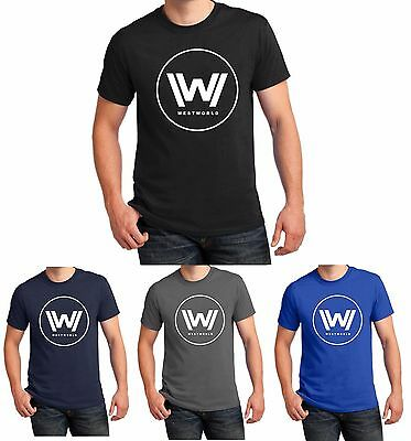 Westworld T Shirt HBO TV Series West World Logo Men Women Christmas Gift S-5XL