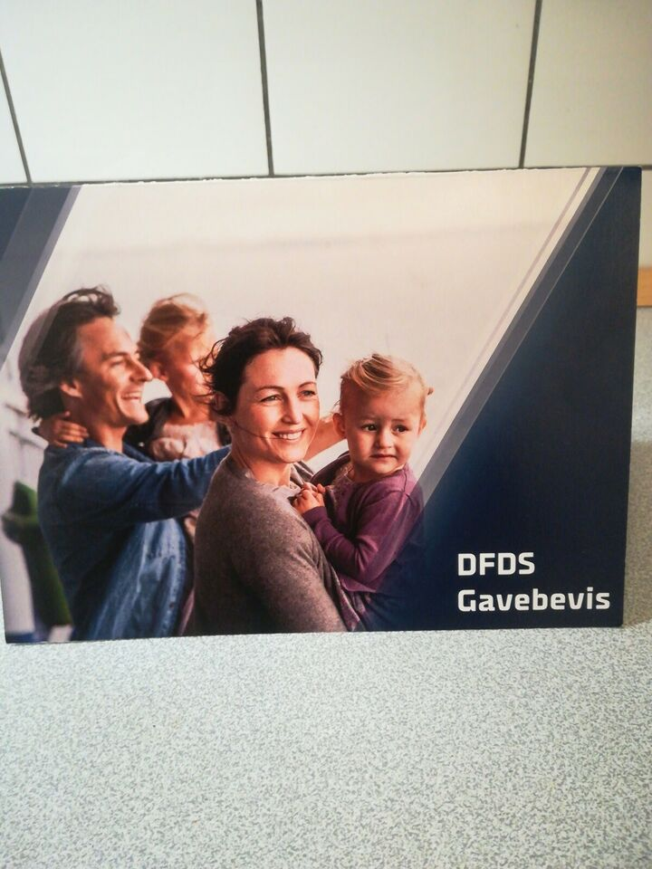 DFDS gavebevis til family get a way. Minicruise...