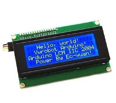 Blue Serial IIC/I2C/TWI 2004 204 20X4 Character LCD Module Display B3-005