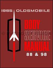 1965 Olds 88 98 Starfire Body Repair Shop Manual 65 Oldsmobile Dynamic Delta