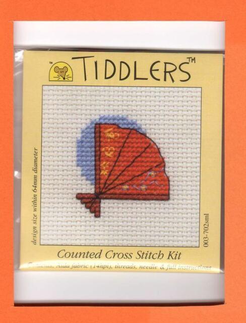 Tiddlers by Mouseloft X Stitch Kit (Oriental Fan)