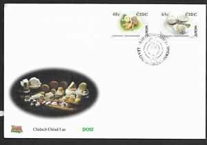 Ireland-2005-FDC-Europa-Gastronomy-fine-used-stamps