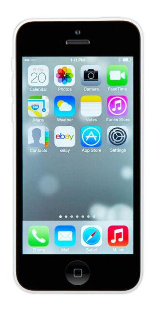 Apple iPhone 5c - 32GB - White (Unlocked) Smartphone