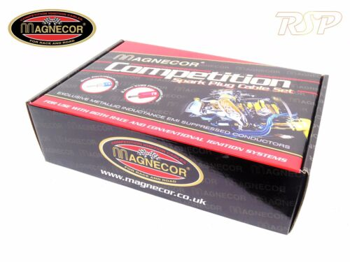 Magnecor KV85 Rouge Ignition HT Leads Wires Cable Set Peugeot 106 Rallye Saxo VTR