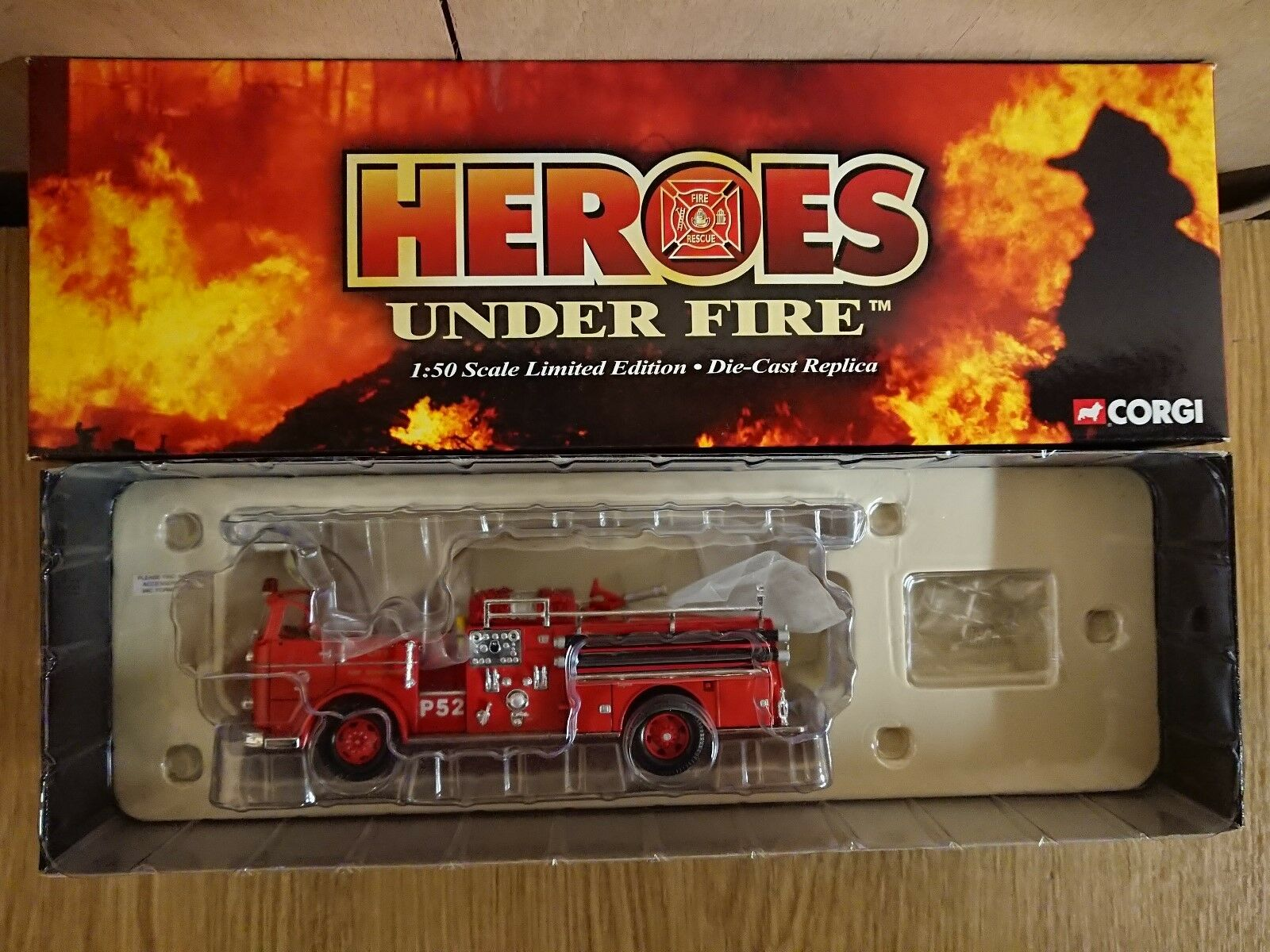 Corgi US50809 Seagrave K Open Cab L.A. City Fire Department Ltd Ed 0003 of 1500
