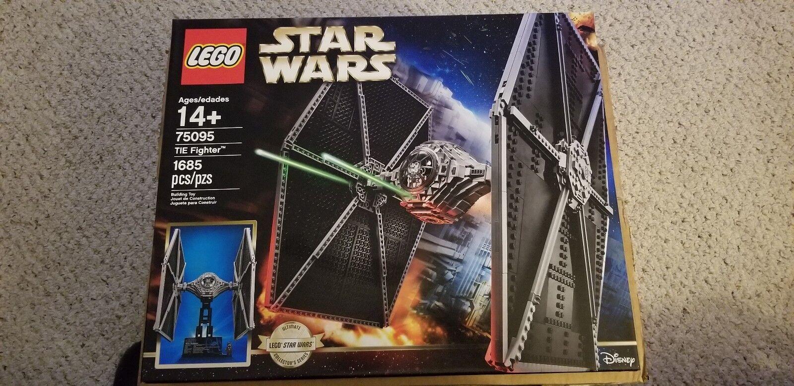 LEGO Star Wars TIE Fighter 75095 UCS Brand Nuovo Sealed
