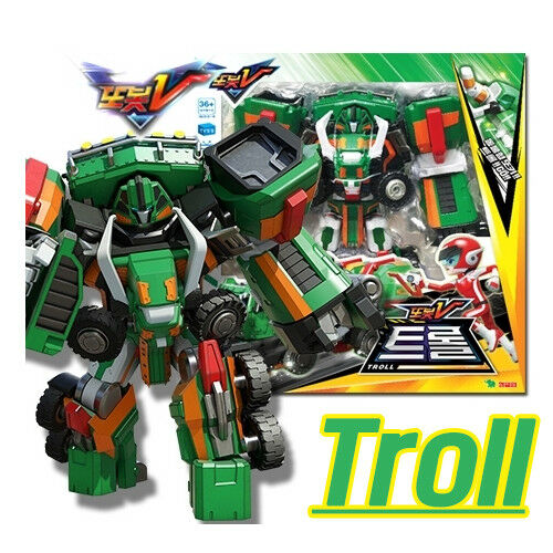 TOBOT V TROLL Mammoth Transformer Robot voiture Spielzeug trail 2019 Geschenk Boy
