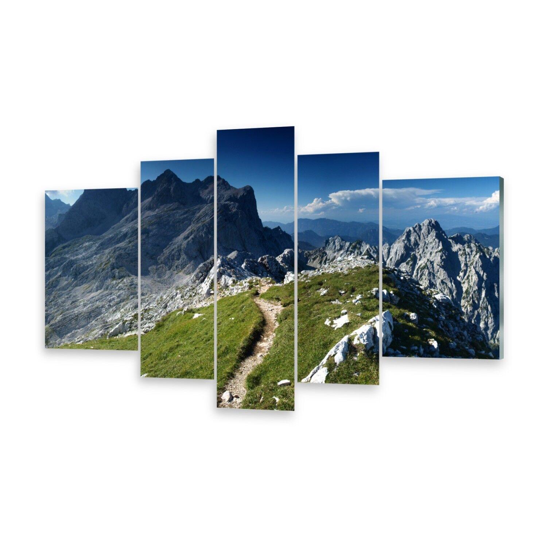 Mehrteilige Bilder Acrylglasbilder Wandbild Alpen Slowenien