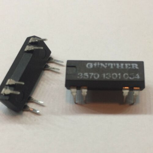 GUNTHER 3573.1231.054 or 3570.1301.054 or 3570.1301.053 Reed Relay Relais NOS x1