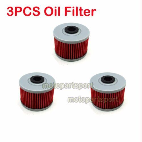 3x Oil Filter For KAWASAKI KX450F KFX450R KLX125 KLX 140L 140 110L 110 450R 250S