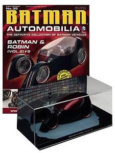 DC BATMAN AUTOMOBILIA FIGURE #35 BATMAN & ROBIN VOLUME 2 NUMBER 5 VEHICLE