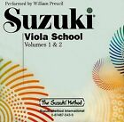 Suzuki Viola School, Volumes 1 & 2 by William Preucil (CD-Audio, 1997)